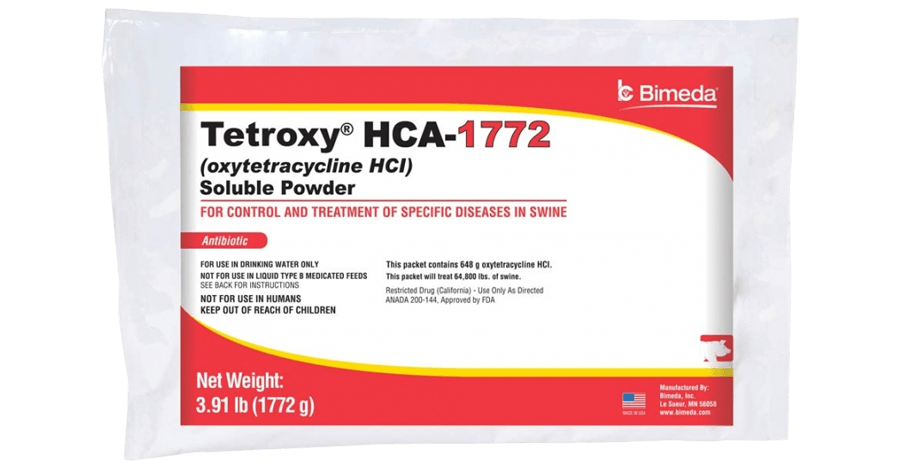 TETROXY® HCA - 1772 SOLUBLE POWDER