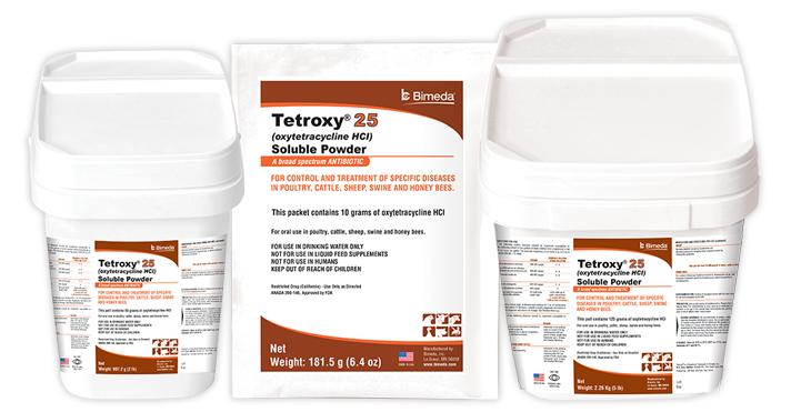 TETROXY® HCI SOLUBLE POWDER-25